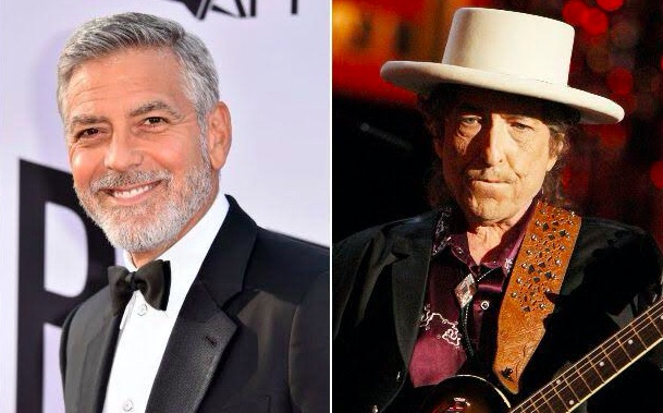 George Clooney et Bob Dylan
