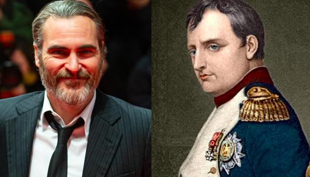 Joaquin Phoenix en Napoleon pour Ridley Scott