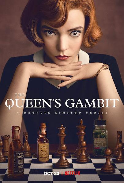 Le Jeu de la Dame - The Queens Gambit - poster