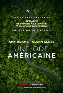 Une ode americaine - Hillbilly Elegy - affiche