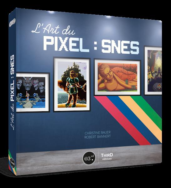 Art du Pixel - SNES - livre