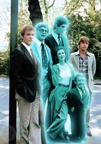 Equipe Star Wars - photomontage