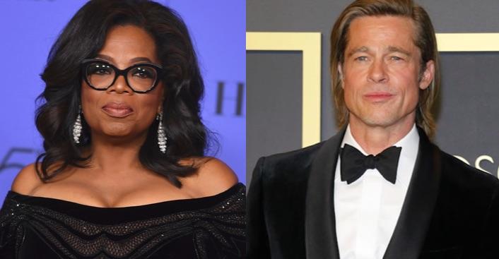 Oprah Winfrey - Brad Pitt