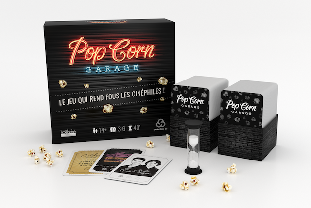 PopCorn Garage - Jeu de plateau - Editions Hoebeke
