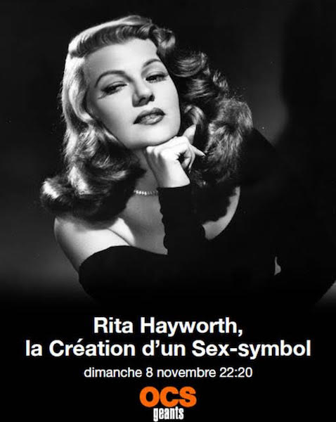Rita Hayworth creation dun sex-symbol- affiche