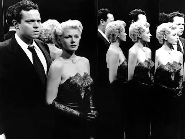 Rita Hayworth et Orson Welles - La Dame de Shanghai