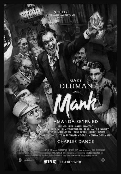 Mank - affiche