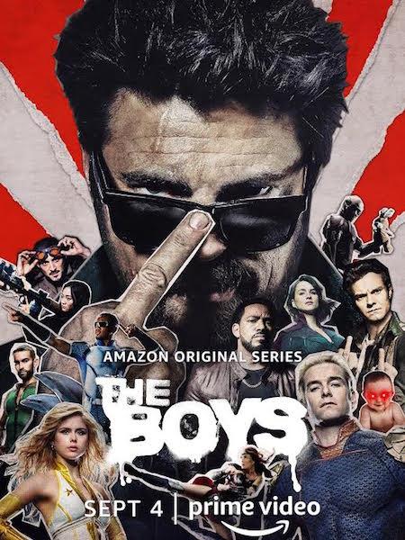 The Boys saison 2 - affiche