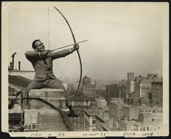 Douglas Fairbanks, sur Robin des Bois - Credit Julia et Clara Kuperberg