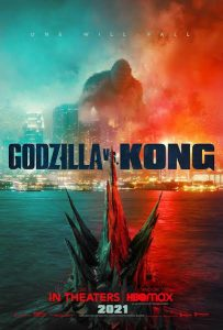 Godzilla vs Kong - poster US