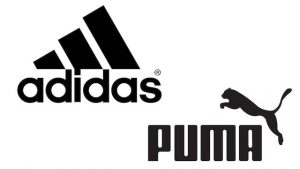 Logos Adidas - Puma