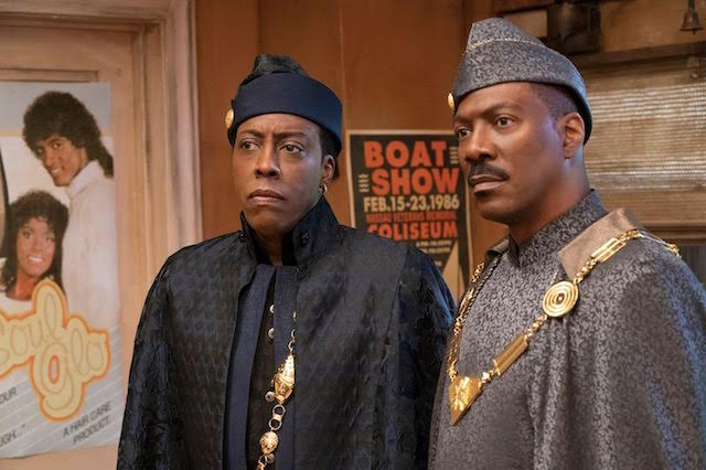 Arsenio Hall et Eddie Murphy - Un Prince a New York 2