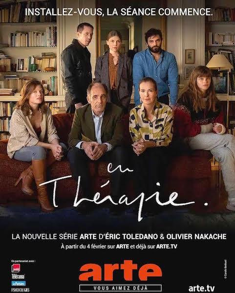 En Therapie de Olivier Nakache et Eric Toledano - affiche