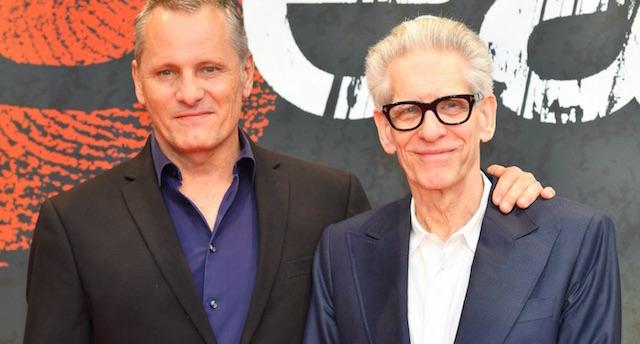 Viggo Mortensen et David Cronenberg