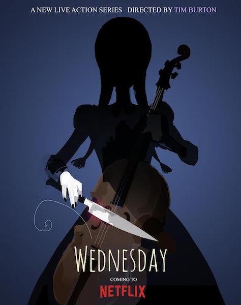 Wednesday - affiche Netflix