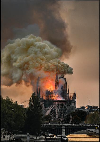 Notre-Dame brule de Jean-Jacques Annaud - Credit Guy Ferrandis