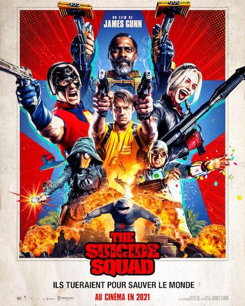 The Suicide Squad de James Gunn - affiche