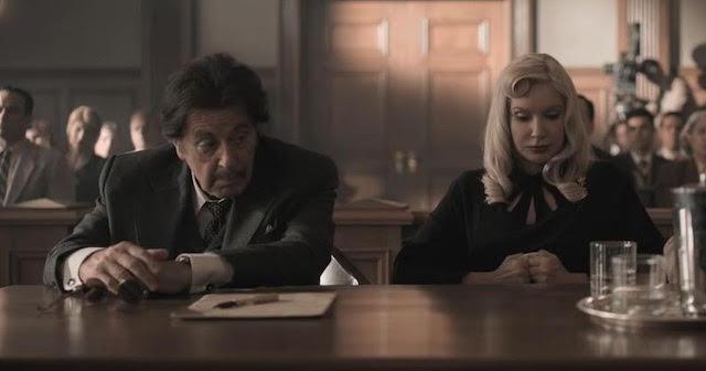 Al Pacino et Meadow Williams - American Traitor