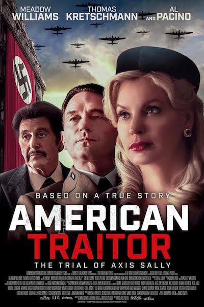 American Traitor- The Trial of Axis Sally. - poster US