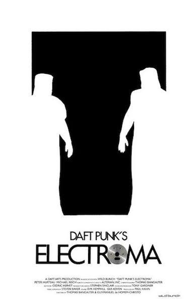 Daft Punk Electroma - affiche