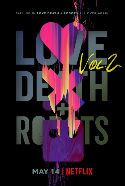 Love Death and Robots vol 2 - poster