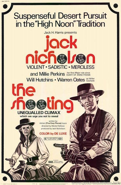 The Shooting - poster