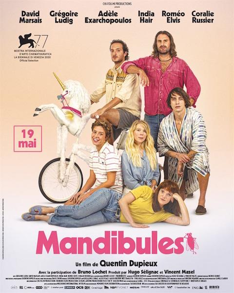 Mandibules - affiche