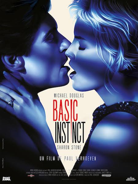 Basic Instinct - affiche ressortie