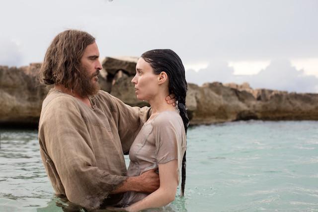 Joaquin Phoenix et Rooney Mara - Marie-Madeleine de Garth Davis