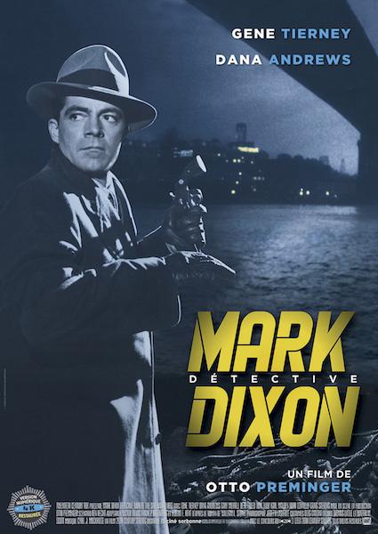 Mark Dixon detective - affiche