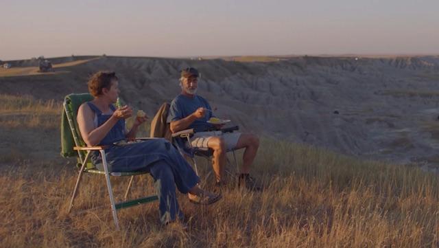 Frances McDormand et David Strathairn - Nomadland
