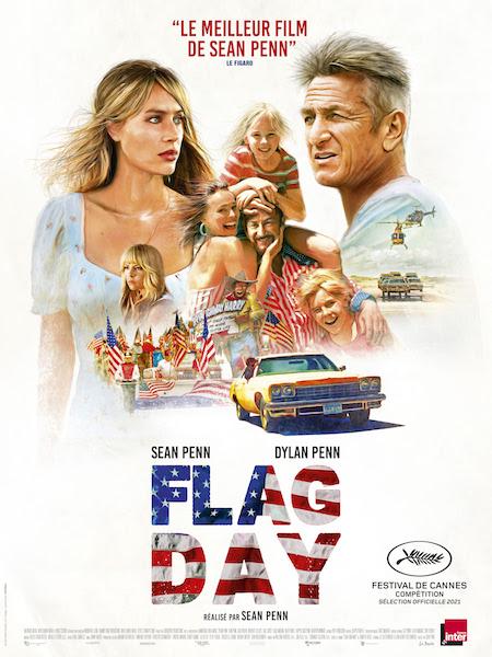 Flag Day de Sean Penn - affiche