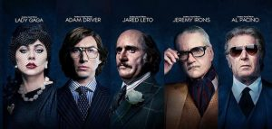 House of Gucci - affiches des personnages
