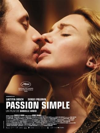 Passion simple - affiche
