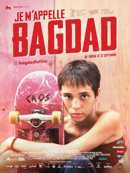 Je mappelle Bagdad- affiche