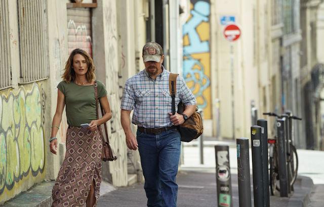 Camille Cottin et Matt Damon - Stillwater
