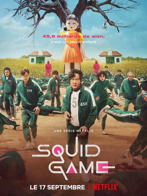 Squid Game - affiche